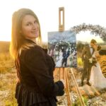 Win a watercolor recreation of your engagement photos.